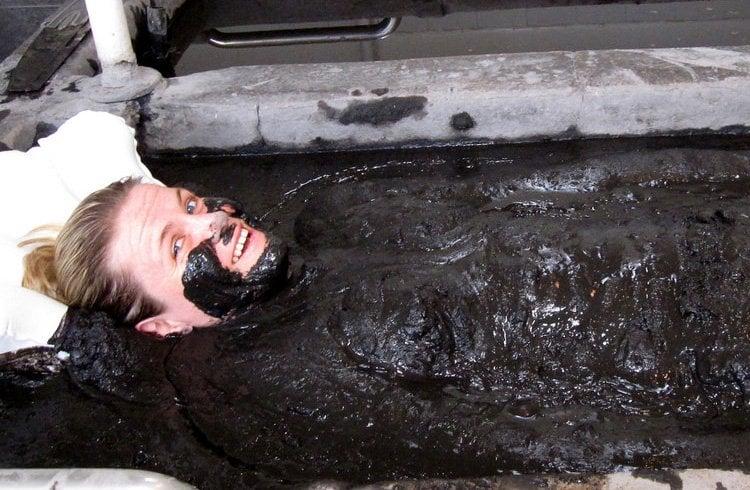 Spa mud bath
