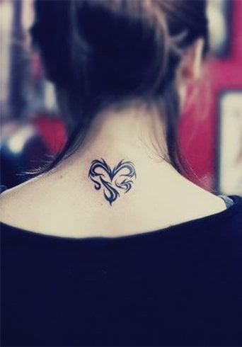 Unique heart tattoos