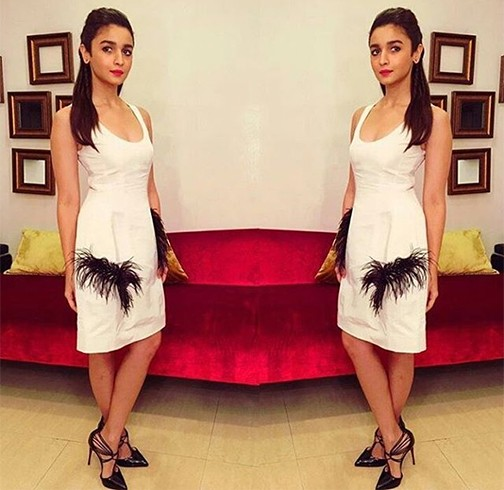 Alia Bhatt In Prabal Gurung