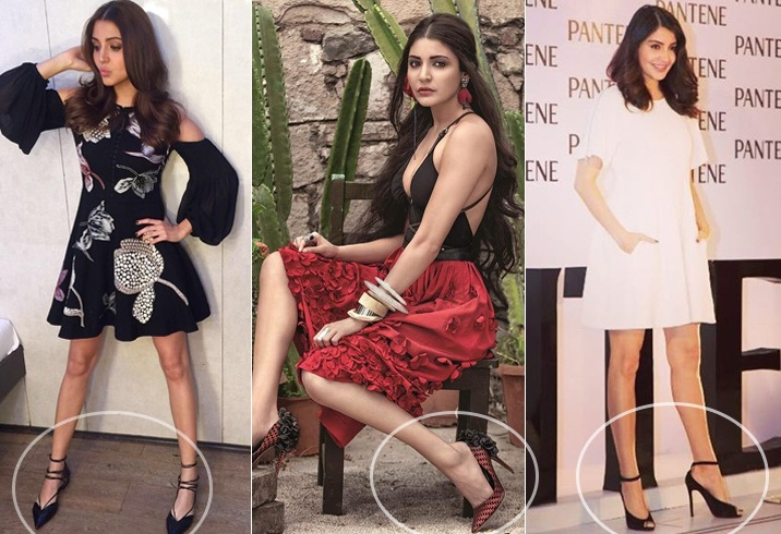 Anushka Sharma Footwear