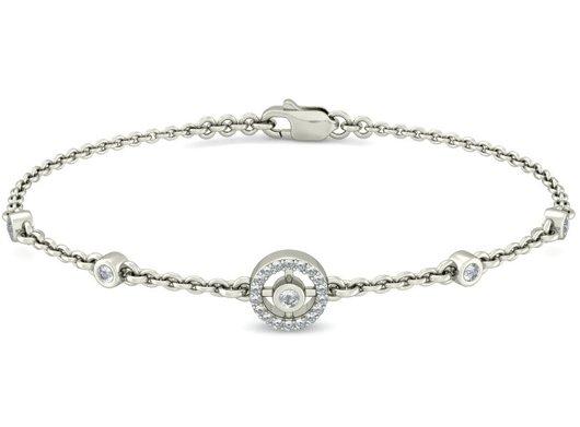 Blue Stone Bracelet for Women