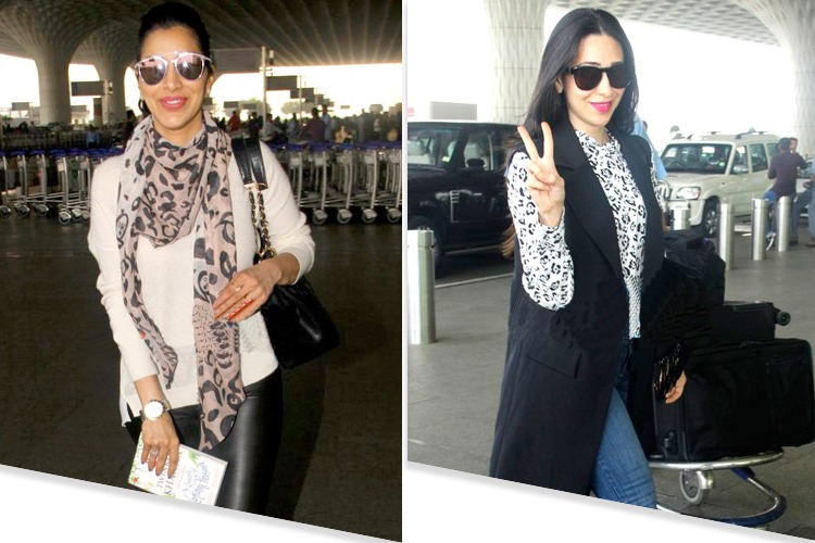 Celebrites Airport Fashion