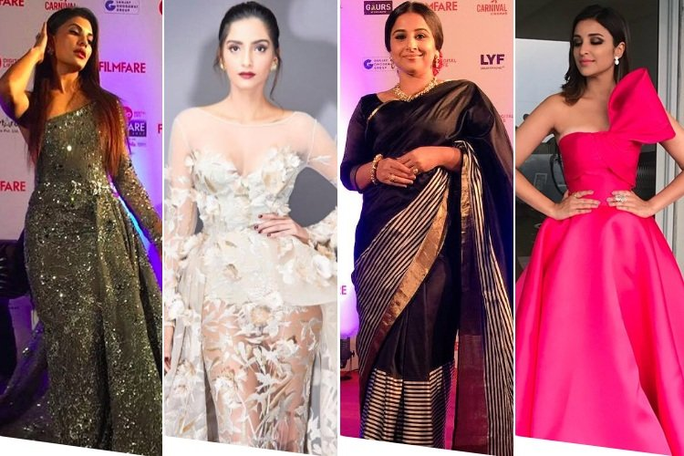 Celebrites at Filmfare Awards
