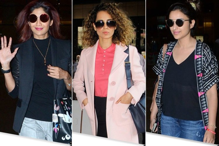 Celebs Latest Airport Fashion
