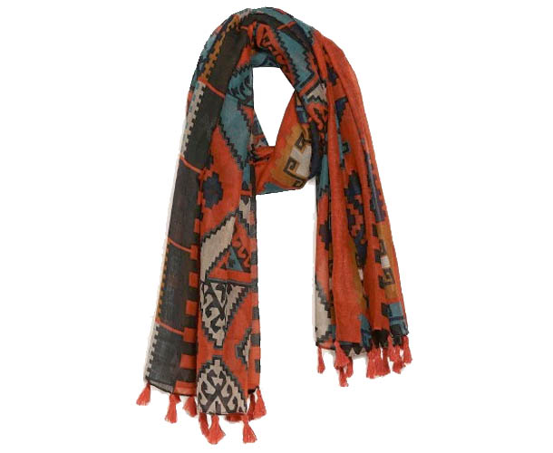 stock up your summer wardrobe with flowy scarves