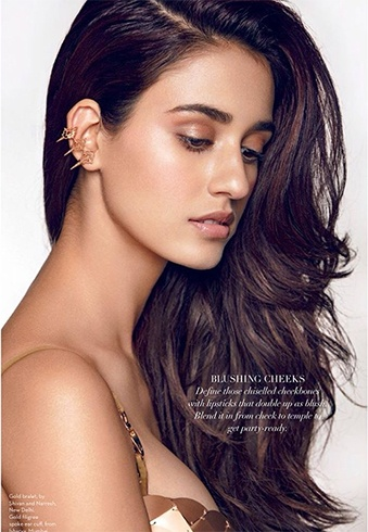 Disha Patani on Verve Magazine