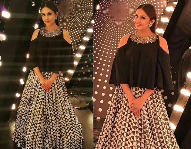 Huma Qureshi in Manish Malhotra