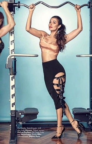 Malaika Arora on Vogue