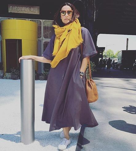 Neha Dhupia in NYC