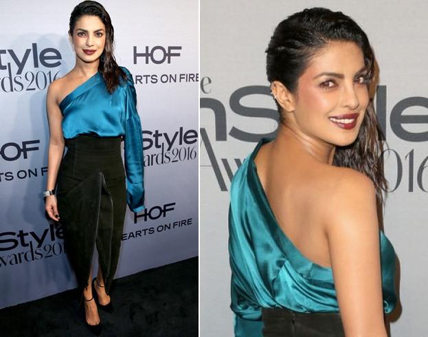 Priyanka Chopra hairdo style
