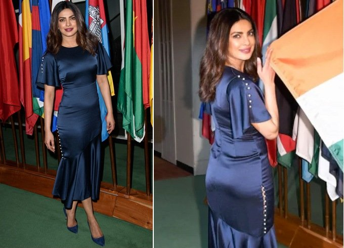 Priyanka Chopra In Prabal Gurung