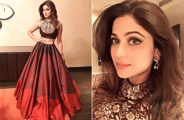 Shamita Shetty Outfit