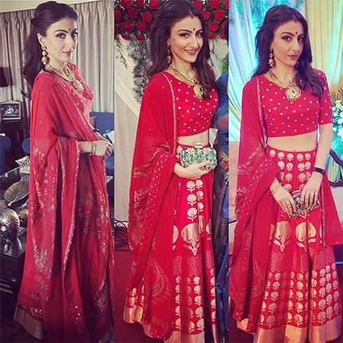 Soha Ali Khan in Wedding Ceremony