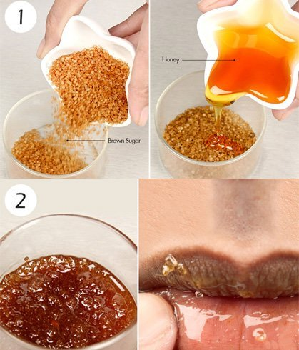 Sugar Scrub for Dark Lips