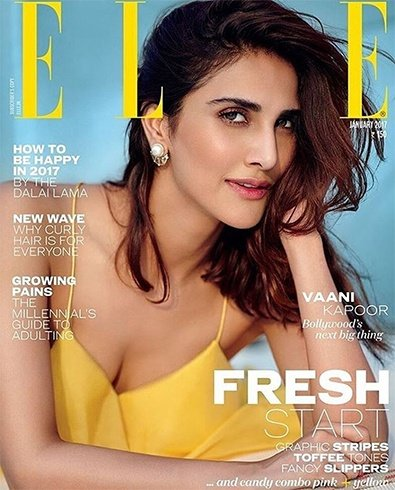 Vaani Kapoor On Elle