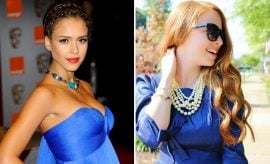 What Color Lipstick To Wear With Blue Dress
