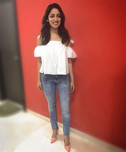 Yami Gautam In Vero Moda And Marks and Spencers