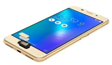 ASUS Zenfone Superfast fingerprint sensor for privacy