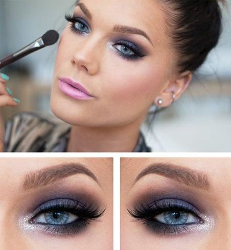 Bronze taupe eyeshadow