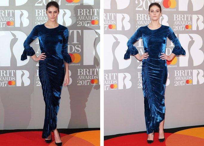 Charlotte Wiggins Dress for red carpet