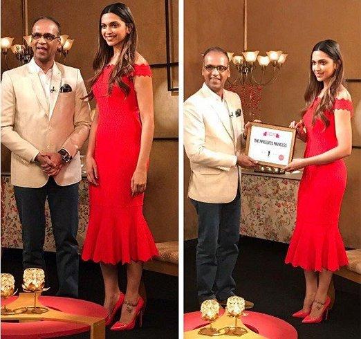 Deepika Padukone Award