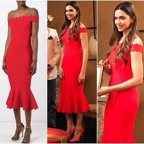 Deepika Padukone Dress