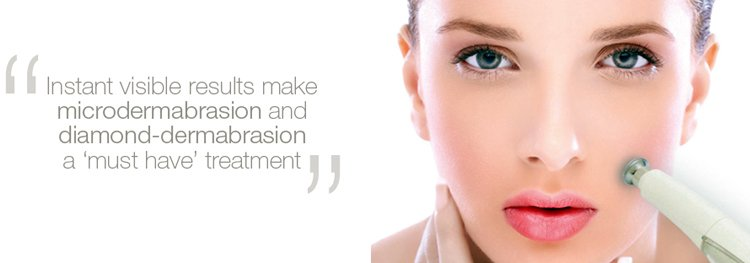 Diamond dermabrasion facial