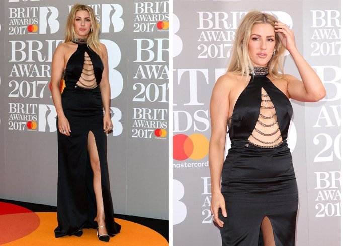 Ellie Goulding Dress for red carpet