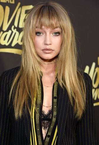 Gigi Hadid natural hair color