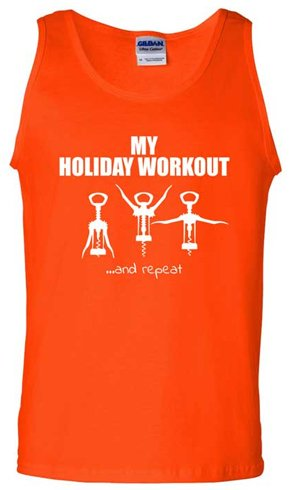 Holiday workout wine opener
