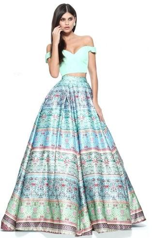 Indian reception dress for brides