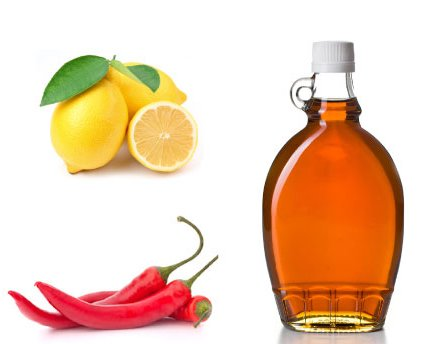 Lemon And Cayenne Pepper Water