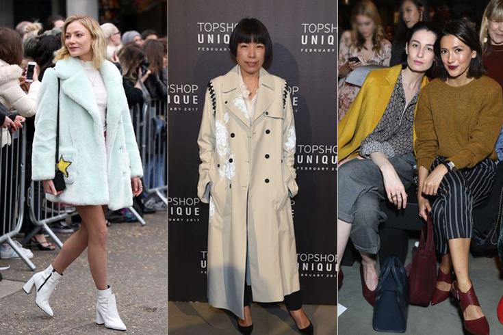 London fashion trends style week.