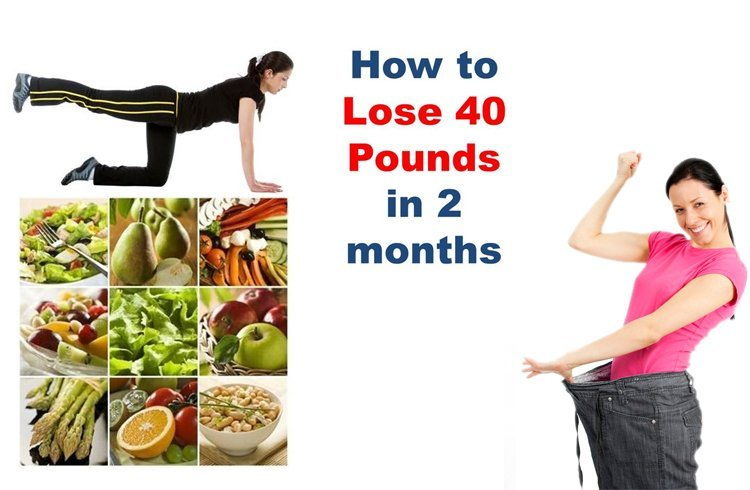 Lose 40 Pounds In 2 Months