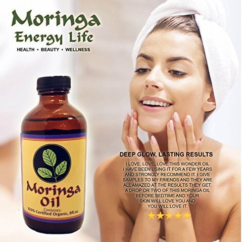Moringa Oil for Glowing Skin
