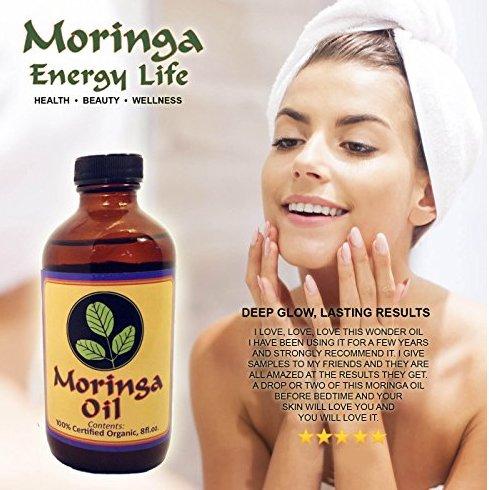 Moringa Oil for Glowing Skin