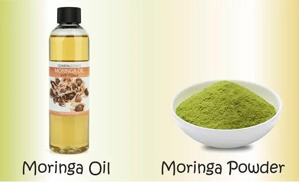 Moringa oil for No more split ends