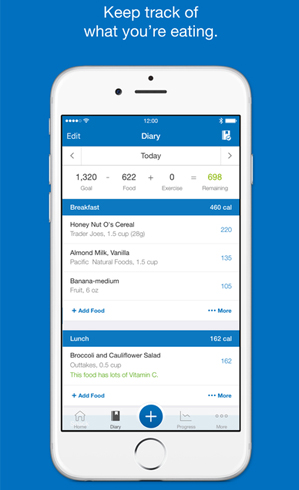 MyFitnessPal for iPhone