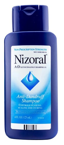 Nizoral shampoo hair loss before after