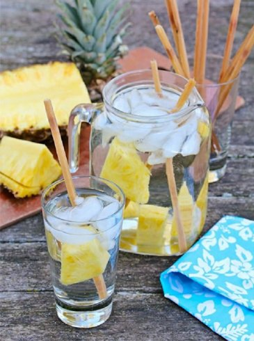 Pineapple and Sugarcane water