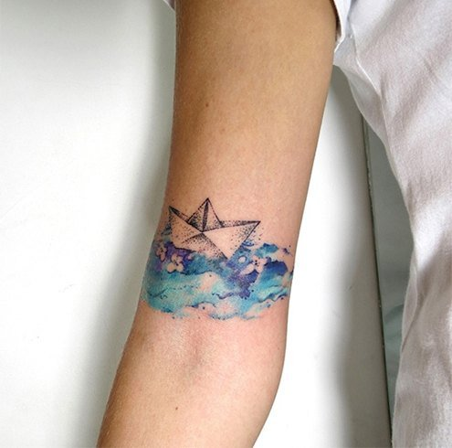 Pisces tattoo creative ideas for your zodiac sign for Pisces wrist tattoo