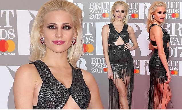 Pixie Lott Dress for red carpet
