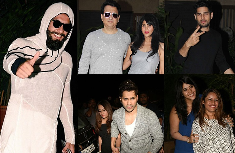 Pre-Birthday Bash Of Shahid Kapoor