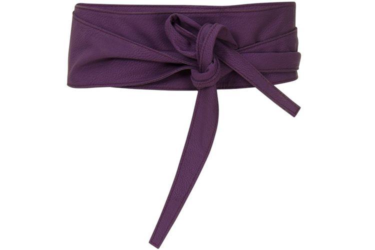 Purple Paris Belt