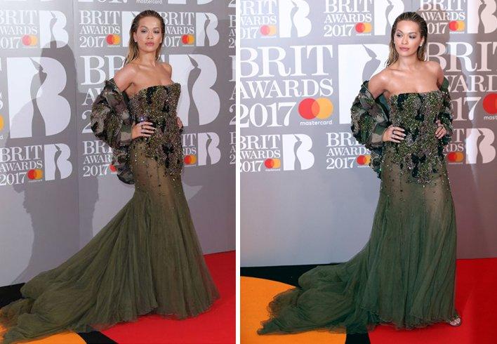Rita Ora Dress for red carpet