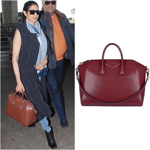 Sridevi Airport Fashion