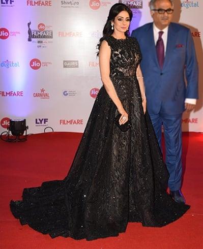 Sridevi at Filmfare Awards