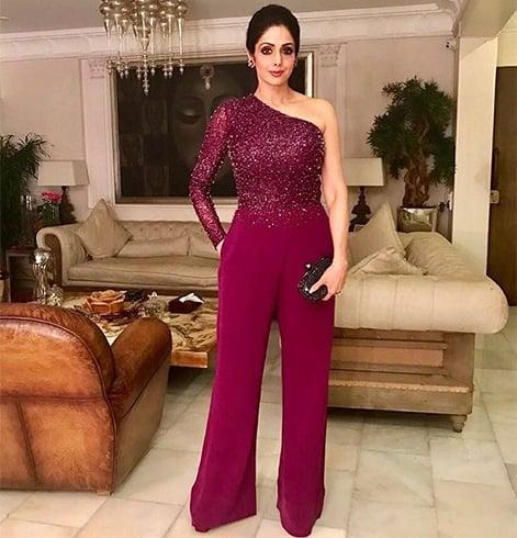 Sridevi Designer Outfit