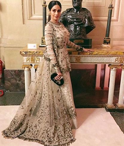 Sridevi Fashion Style