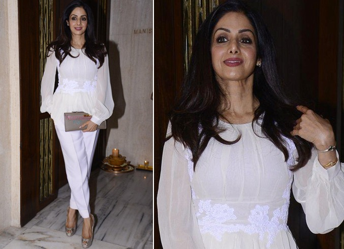 Sridevi Outfit Styles